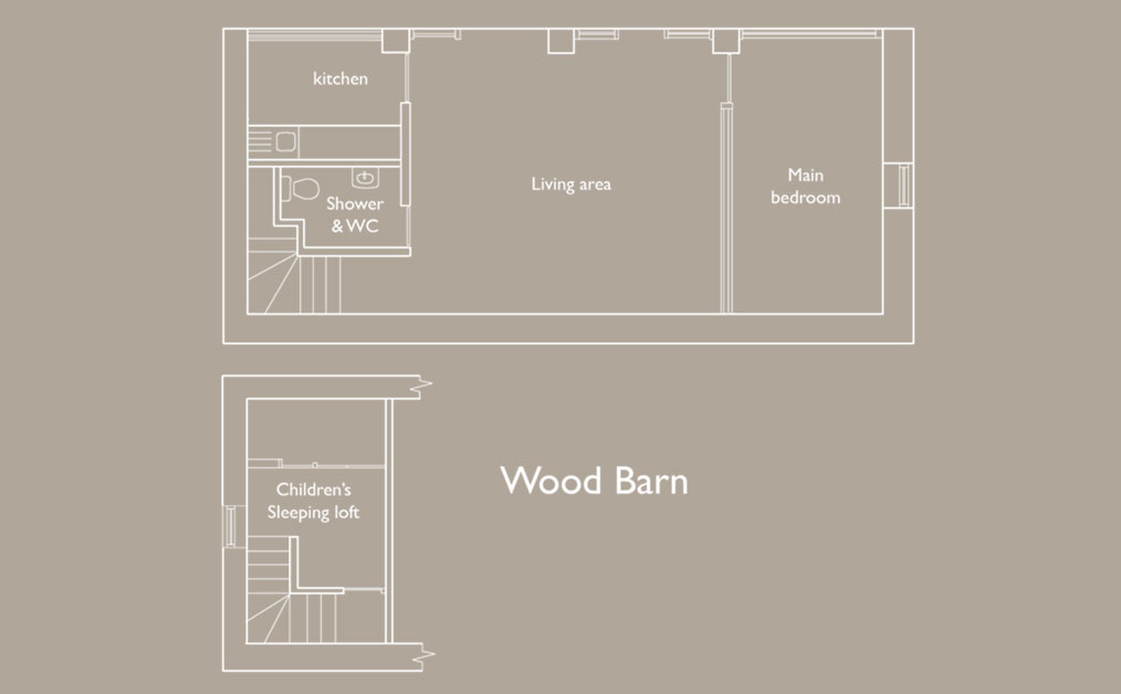 The wood Bard Floor plan